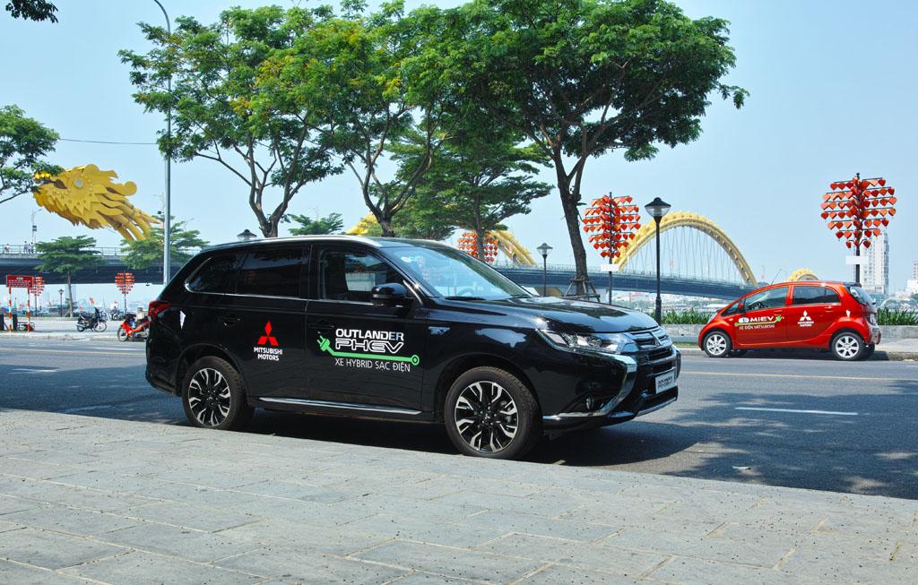 Xe điện Mitsubishi được Mitsubishi Motors Việt Nam bàn giao đến TP. Đà Nẵng
