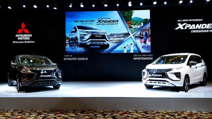 All New Mitsubishi Xpander chính thức ra mắt tại thị trường ô tô Việt Nam